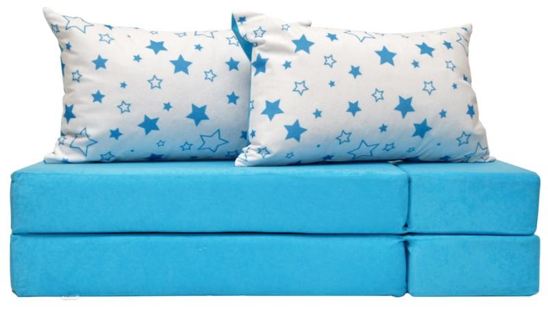 fea7937c26c6 Rozkladacia detská pohovka 3 v 1 - P33 - Magic stars - modré empty