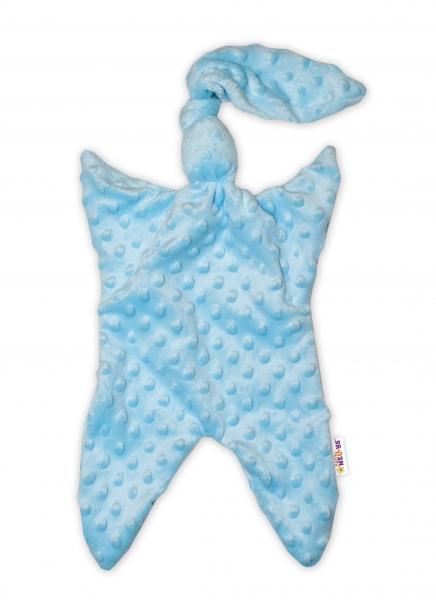 Baby Nellys  Přítulníček / mazlík, Minky - modrý