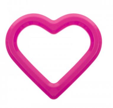 AKUKU Vodne hryzátko Srdce - ružové