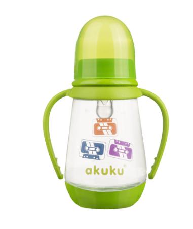 AKUKU Fľaštička 125 ml Kazety - zelená
