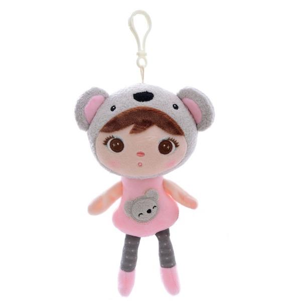 Mini handrová bábika Metoo s klipom medvedík Koala, 22 cm