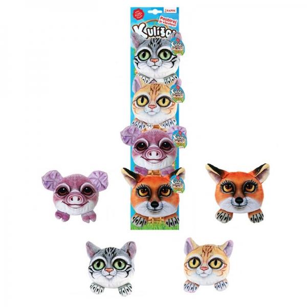 Kulíšci - plyšové mačky a domáce zvieratá, 9 cm, 4 druhy na karte1 k