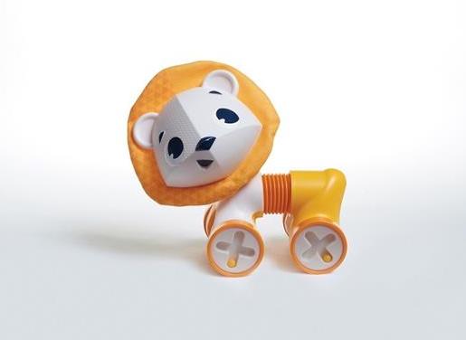 Tiny Love Interaktivní hračka18cm, Lev Leonardo