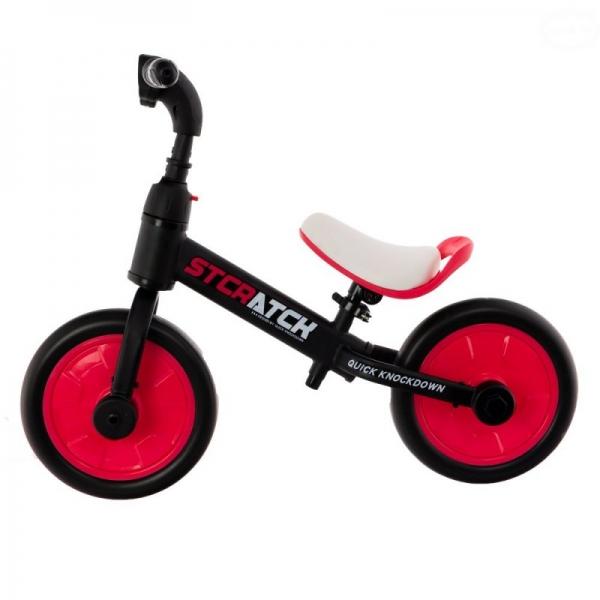 Euro Baby Detské odrážadlo, bicykel 2v1 Plus - ružové