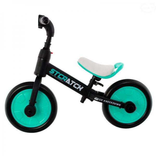 Euro Baby Detské odrážadlo, bicykel 2v1 Plus - mätové