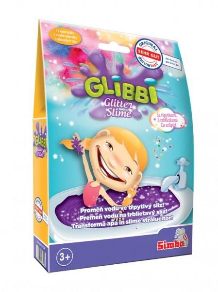 Simba Sliz Glibbi Glitter Slime fialový trblietavý
