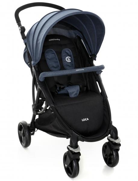 Coto Baby Sportový kočík LOCA 2020 - sivý
