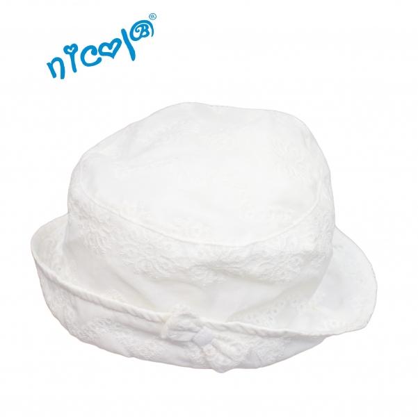 284cf260a OBLEČENIE   Dojčenský klobúk Lady - biely   Kojenecké oblečenie ...