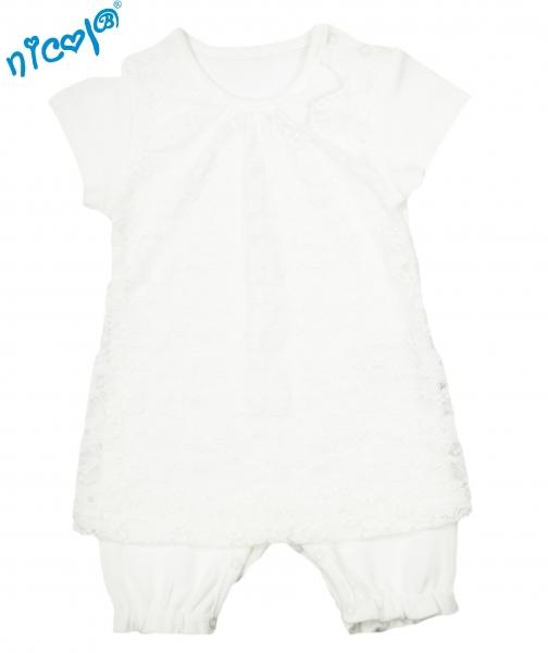 Nicol Body s nohavičkami Lady - krátky rukáv, veľ. 56-56 (1-2m)