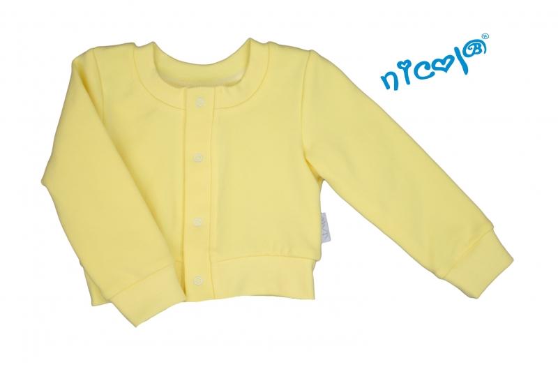 Dojčenské bolerko Lady - žlté, veľ. 74