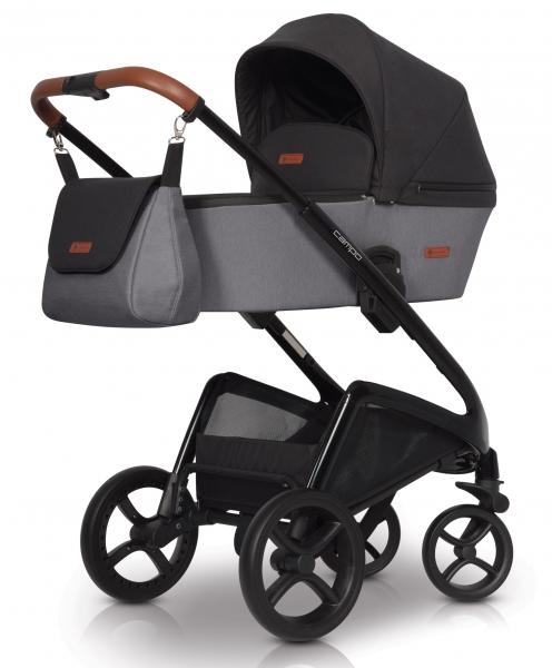 Detský kočík Euro Cart, Campo 2019 - antracit