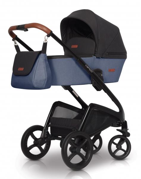 Detský kočík Euro Cart, Campo 2019 - denim
