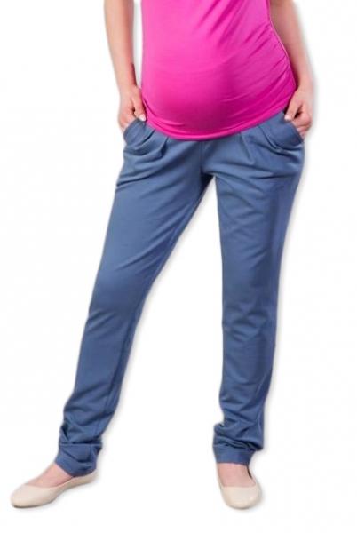 Tehotenské nohavice/tepláky Gregx, Awan s vreckami - jeans, veľ. M