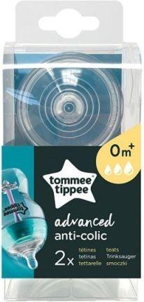 Silikónový cumlík Tommee Tippee Advanced 0 +, 2 ks