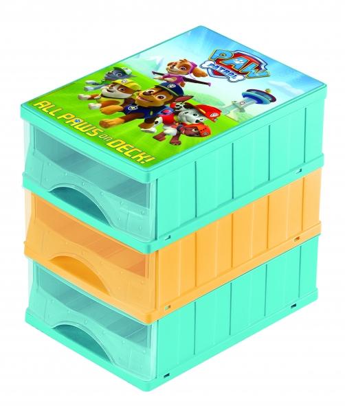 Keeeper Boxy na hračky - zásuvky Paw Patrol