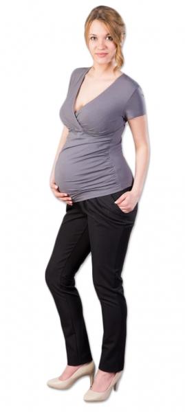 Tehotenské nohavice Gregx, Kofri - čierne, veľ. L