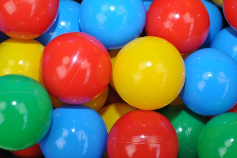 NELLYS Náhradné balóniky do bazéna - 200 ks, mix VII