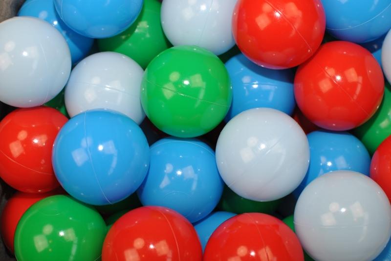 NELLYS Náhradné balóniky do bazéna - 200 ks, mix IX