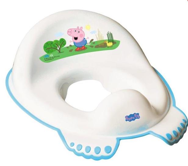 Adaptér, sedátko na toaletu Tega Baby - Prasiatko Peppa, modrý