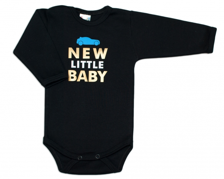 Body dlhý rukáv Dejna New little Baby - Boy-62 (2-3m)
