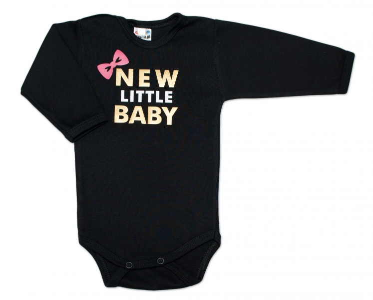 Body dlhý rukáv Dejna New little Baby - Girl, vel. 74