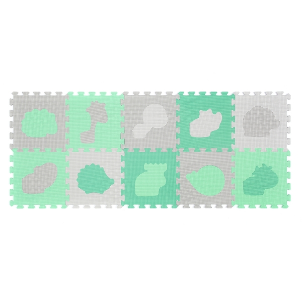 BabyOno Penové puzzle - zvieratká - 10 ks 369/01