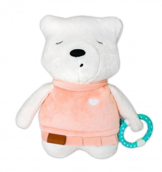 Szumisie Šumiaci maznáčik Medvedík Suzy 25 cm - ružový/bežová