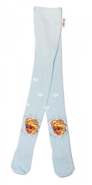 Bavlnené pančucháčky Disney Frozen - sv. modré, veľ. 92/98