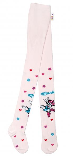Bavlnené pančucháčky Disney Minnie - sv. ružové, veľ. 92/98