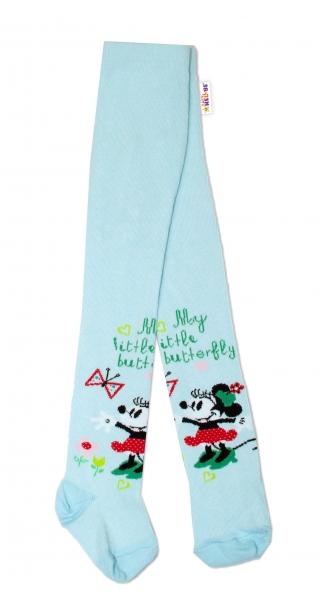Bavlnené pančucháčky Disney Minnie - mätové, veľ. 62/74