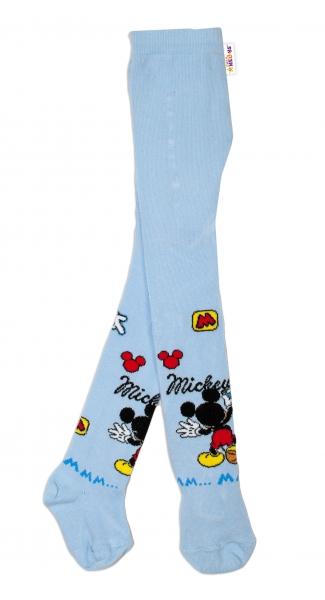 Bavlnené pančucháčky Disney Mickey - sv. modrý, veľ. 62/74