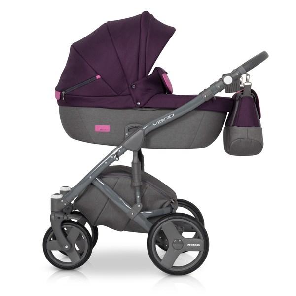 Kočík Riko Vario 2v1, 2018 - purple