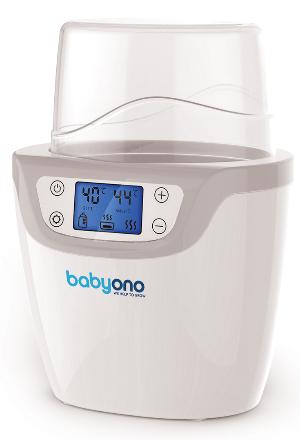BabyOno Digitálny ohrievač fliaš 2v1 so sterilizátorom - LCD