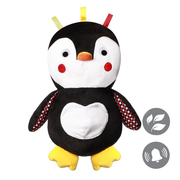 BabyOno Plyšová hračka Tučňáček Connor, 16 cm