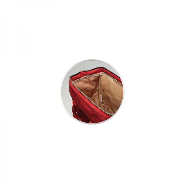 Canpol babies Prebaľovacia batoh ku kočíku - červený