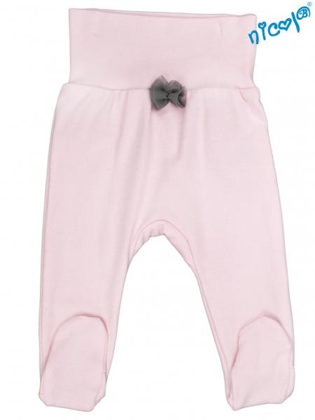 Polodupačky Nicol, Baletka - ružové, veľ. 62-62 (2-3m)