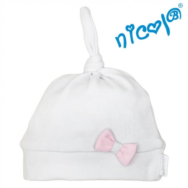 Dojčenská čiapočka Nicol, Baletka - sivá, veľ. 56-56 (1-2m)