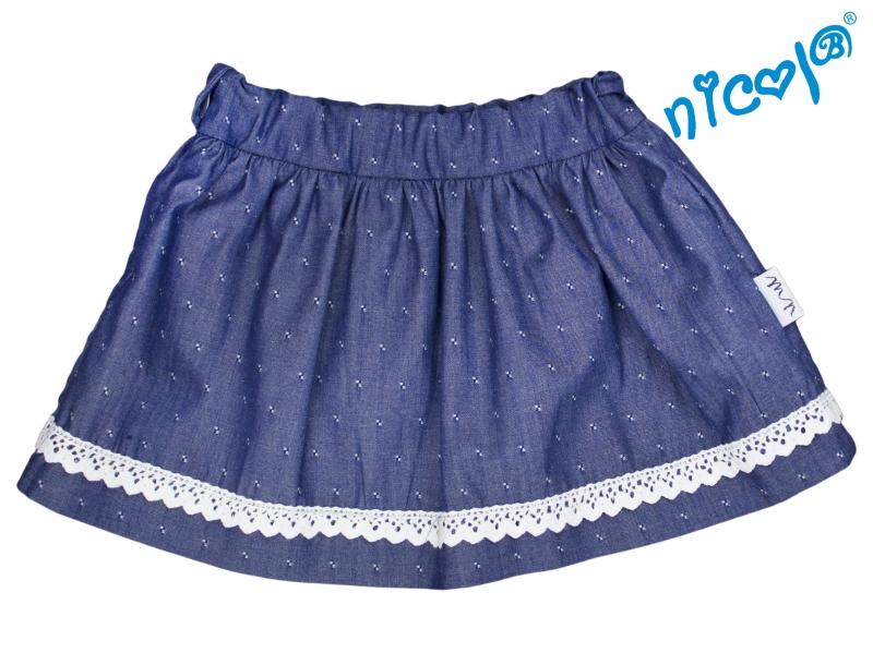 Dojčenská sukne Nicol, Baletka - granátová, veľ. 80