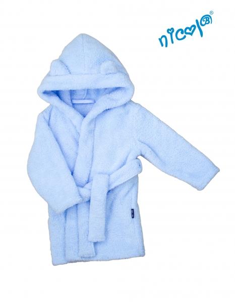 Detský župan Nicol Sailor - modrý, veľ. 110/116-110