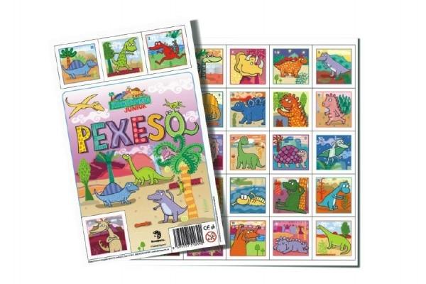 Pexeso Prehistoric JUNIOR spoločenská hra 32 obrázkových dvojíc 26x23cm