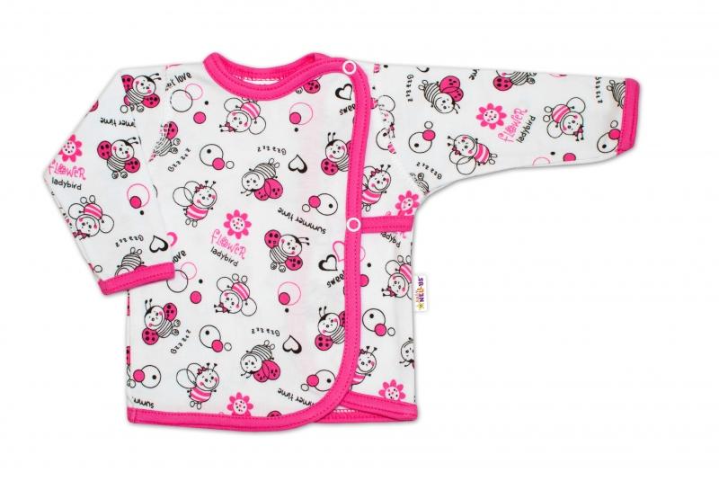 Novorodenecká dievčenská sada košieľok Baby Nellys ® - 3 ks, veľ. 62