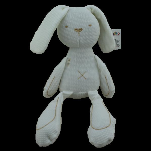 Plyšová hračka Tulilo Zajačík, 42 cm - biely