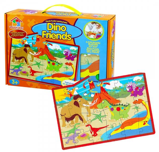 Rappa Puzzle penové 28 dielikov dinosaury