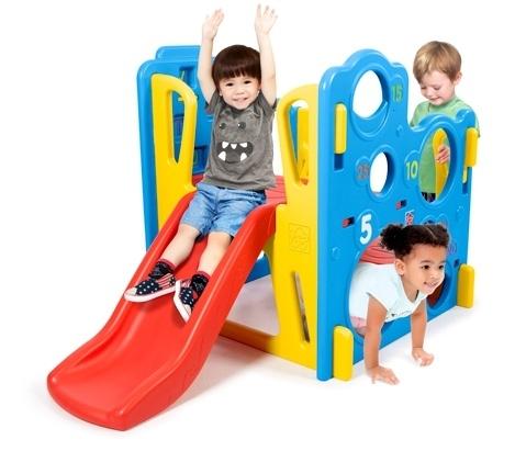 Detské ihrisko s basketbalom, šmýkačkou a preliezačkami - Grow'n Up