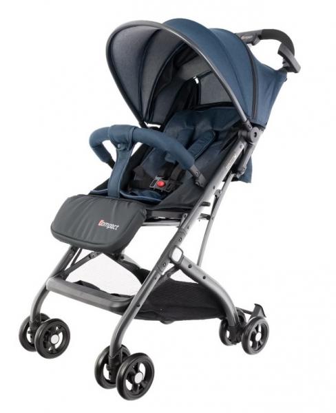 Euro Baby Detský kočík Compact, modrý, Ce19
