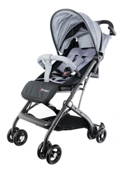 Euro Baby Detský kočík Compact, sivý, Ce19