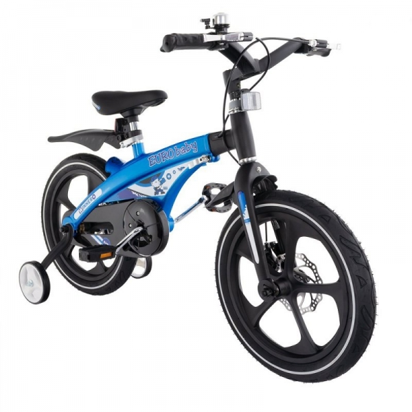 """Euro Baby Detský štylový bicykel Winner 16"""",modrá, Ce19"""