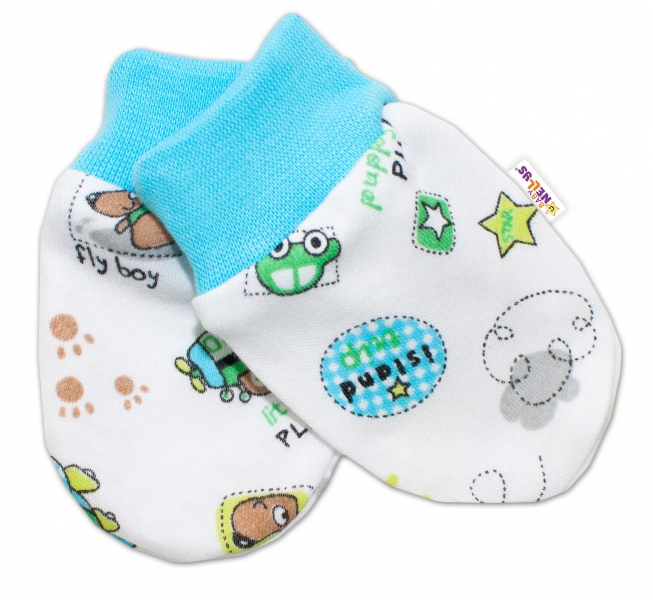 Dojčenské rukavičky Baby Nellys ® - lietadielka