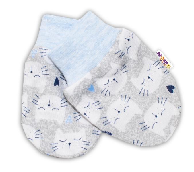 Dojčenské rukavičky Baby Nellys ® - Mačičky
