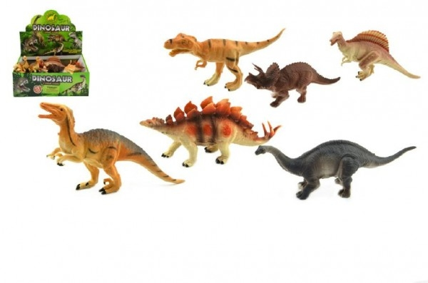 Dinosaurus plast 14cm asst 12ks v boxe